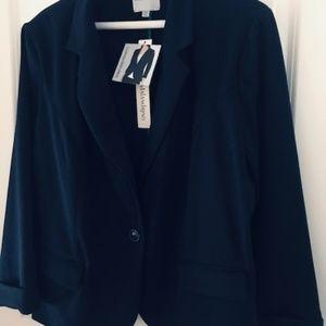 NWT Catherine Malandrino Soft Blazer Size XXL